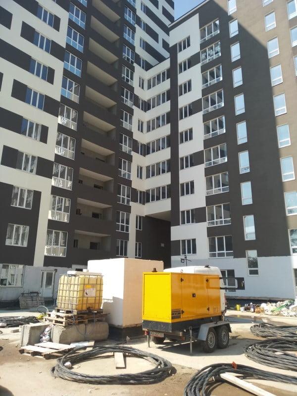 дизельный генератор для строительной площадки