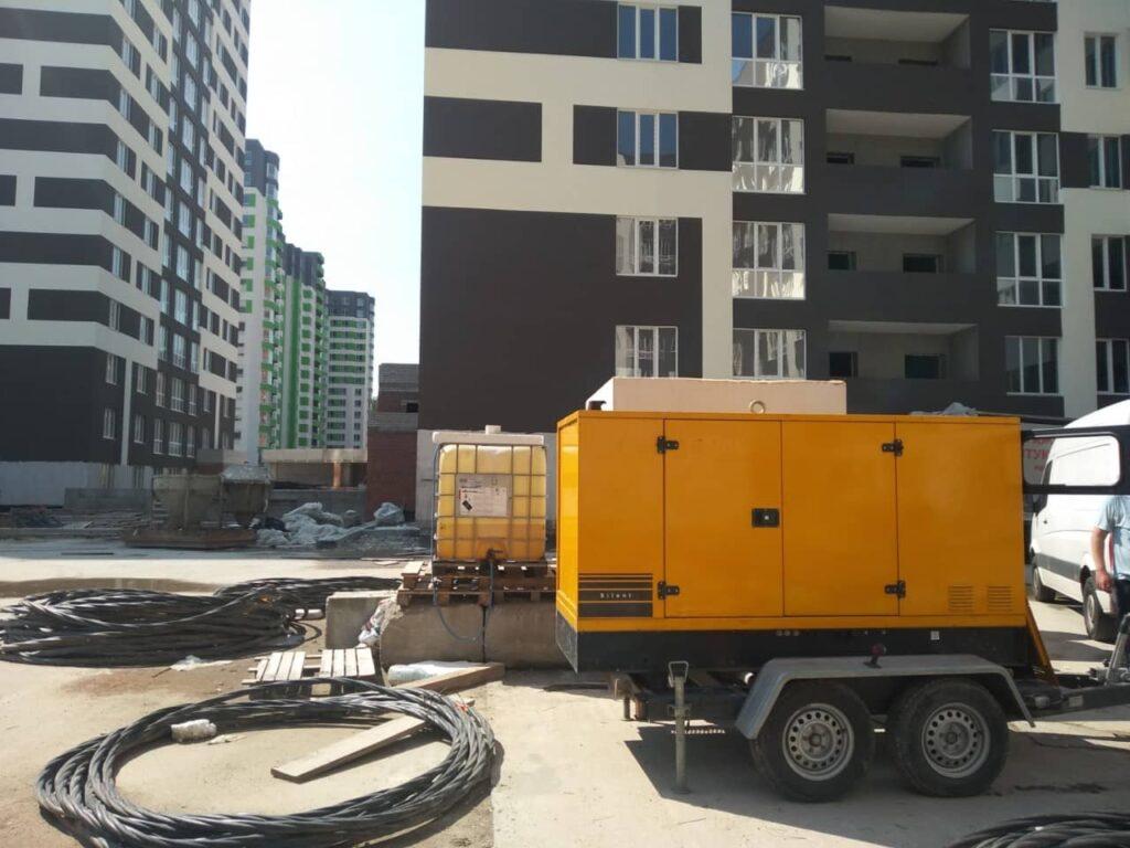 Аренда генератора Киев для строительства