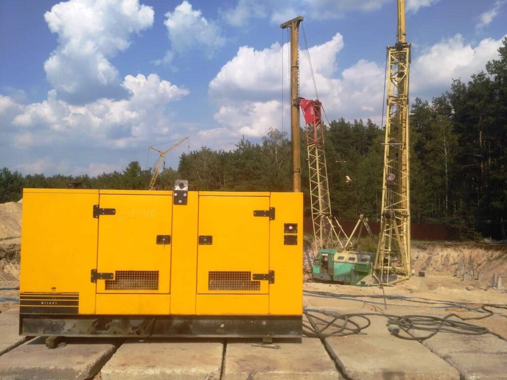 Дизель-генератор для стройплощадки в оренду