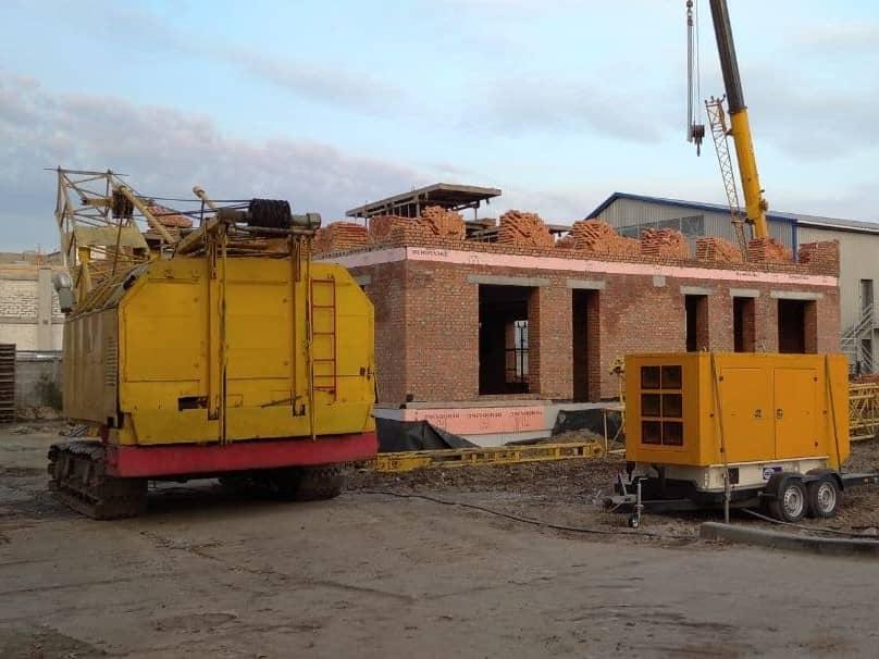 Дизель-генератор для стройплощадки