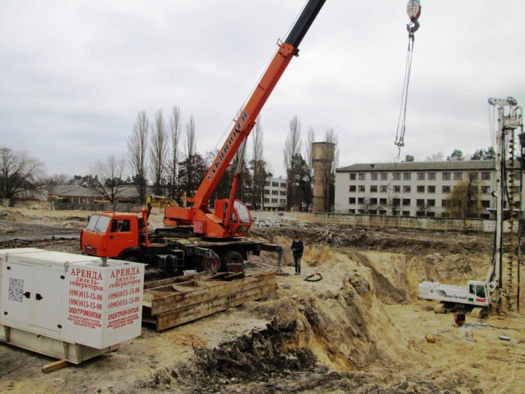Дизель-генератор для стройплощадки 100 кВт